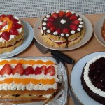 Carer's Lunch cakes