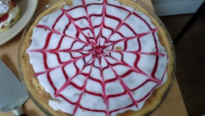 Carer's Lunch Bakewell tart